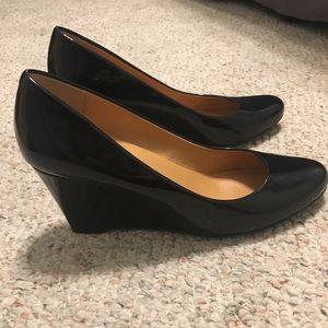 J. Crew black high heels
